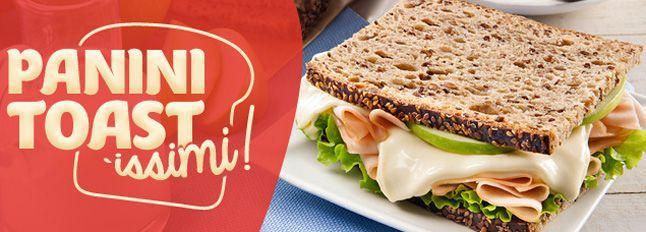 Toast e Panini per le tue feste