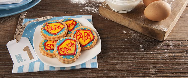 Biscotti per la Festa del papà