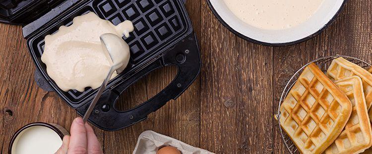 Come fare i waffle