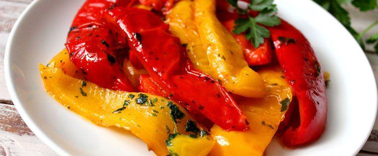 Come condire i peperoni arrostiti