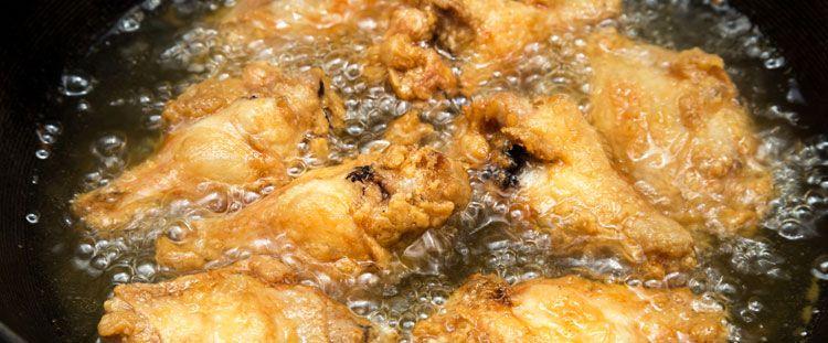 La temperatura giusta dell'olio di frittura