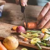 Come pulire e tagliare le verdure