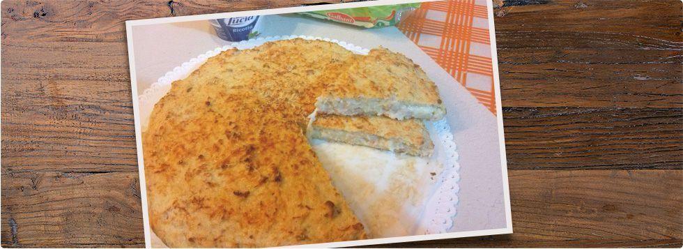 Torta salata al pane raffermo dal cuore filante