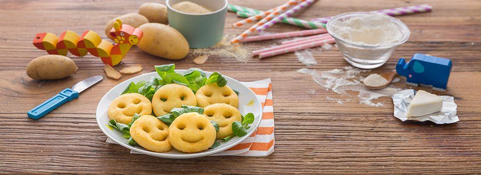 Crocchette di patate con formaggino