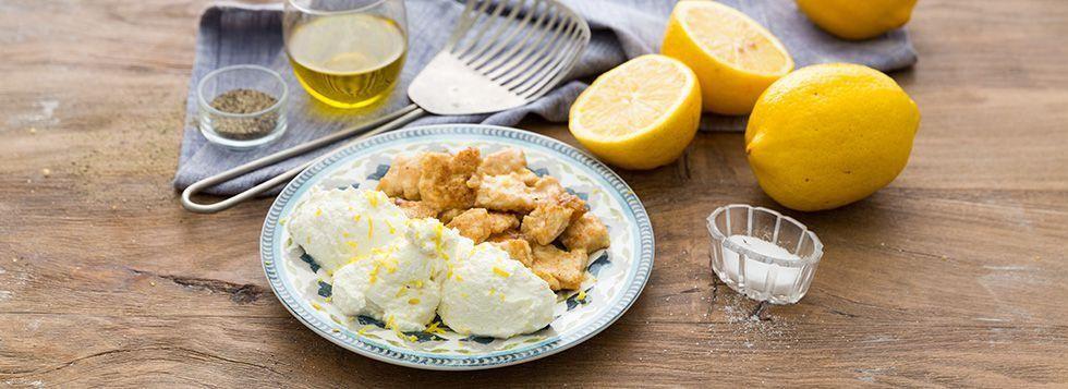 Petto di pollo al limone light