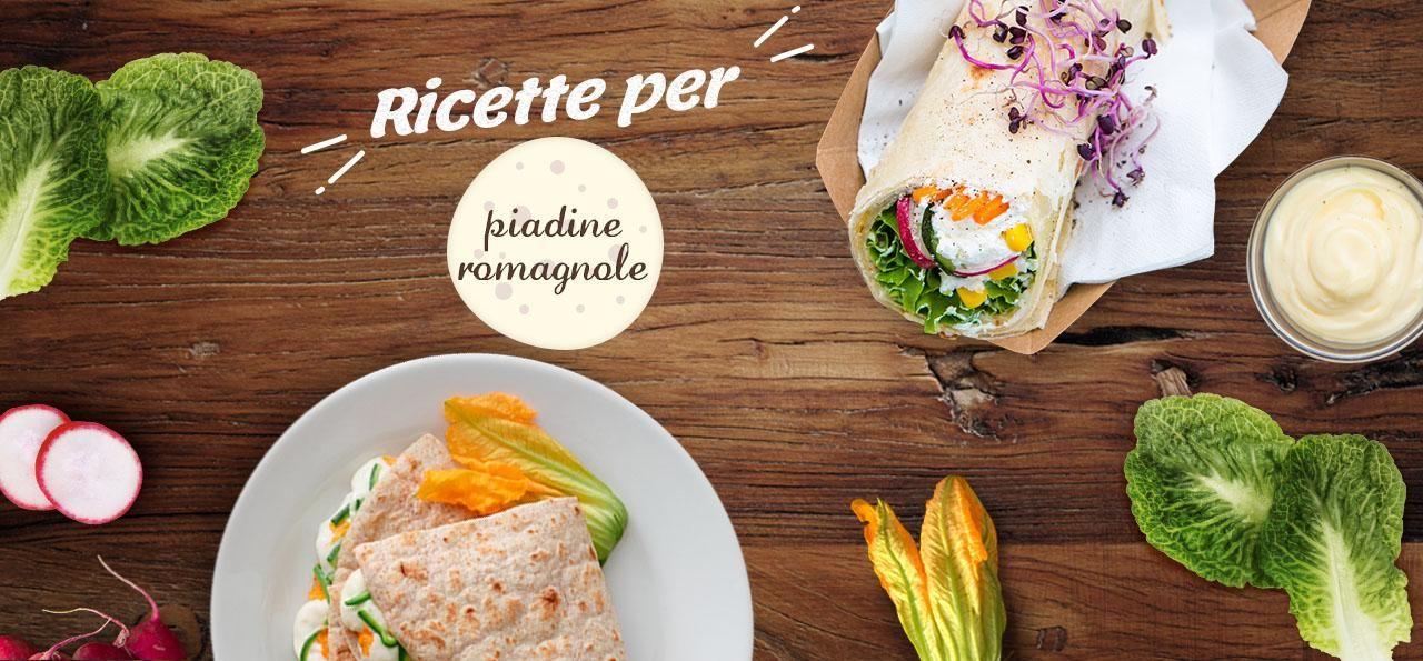 Ricette con piadina romagnola visual 1