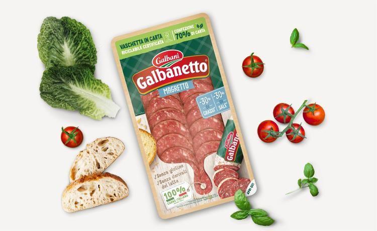 Affettato Galbanetto Magretto