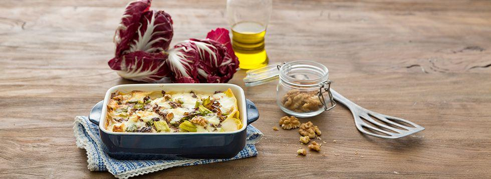 Lasagne bianche vegetariane
