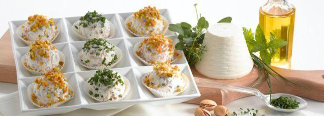 Praline Salate di Ricottina la Leggera