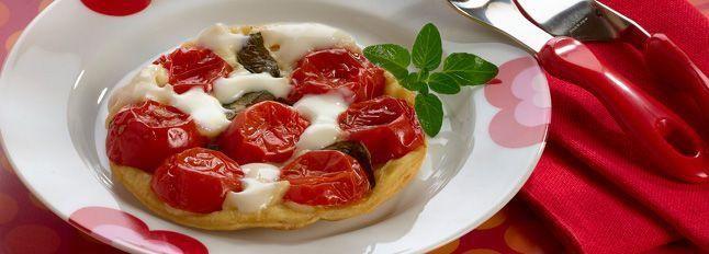 Tarte tatin di pomodori, Certosa  e basilico