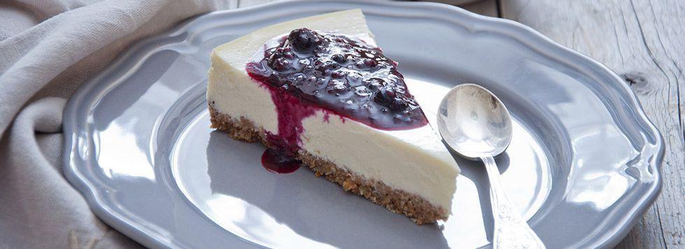 Cheesecake Yogurt Senza Colla di Pesce e Panna