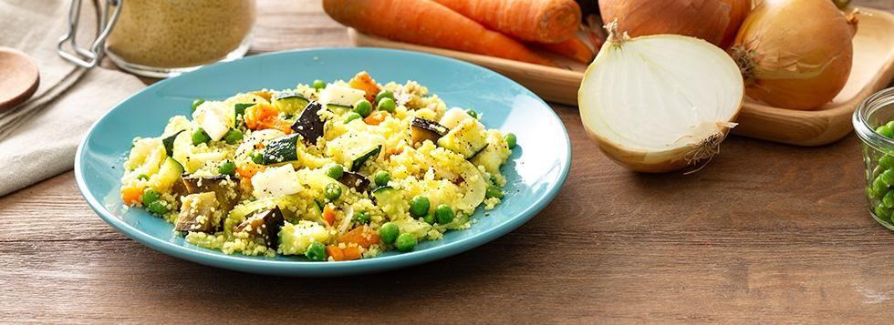 Cous cous con verdure freddo