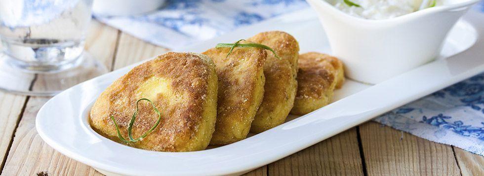 Crocchette di patate e baccala'