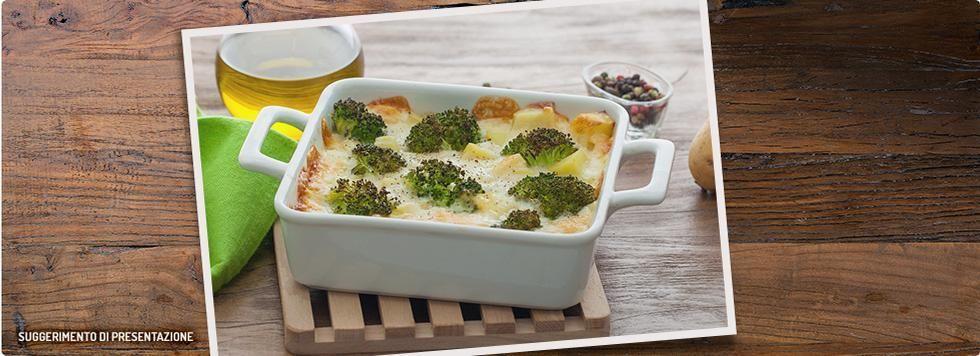 Sformato di broccoli e patate