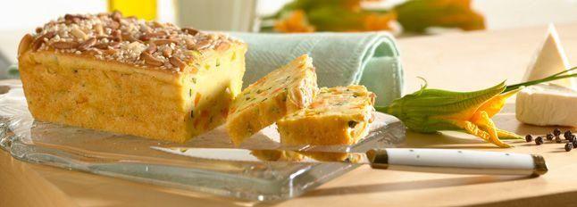 Plumcake di verdure e formaggino