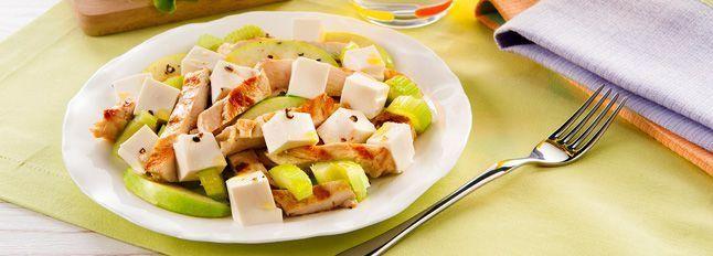 Petto di Pollo in Insalata: ricetta light e gustosa   Galbani