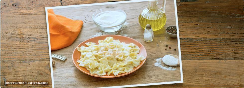 Pasta ai 4 formaggi con Galbanino