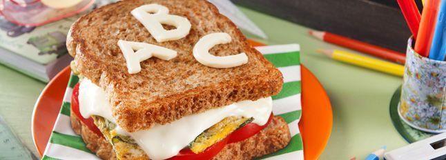 Toast dell'alfabeto