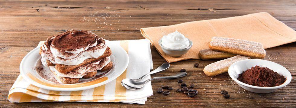 Tiramisù al caffè con Crema Dolce alla Ricotta