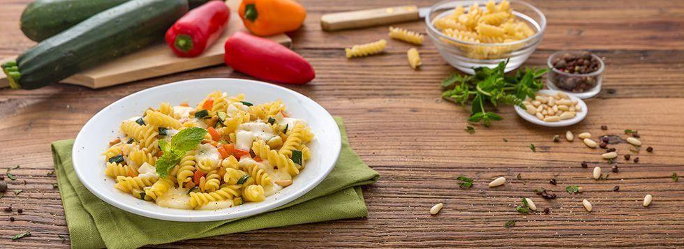Pasta Galbanino e zucchine