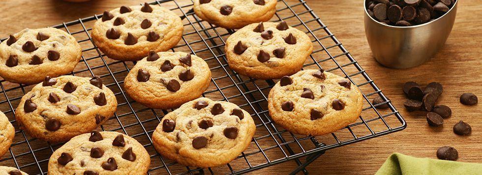 Biscotti al burro e gocce di cioccolato
