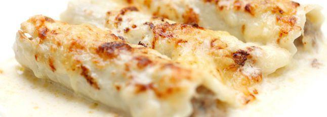 Cannoncini alla crema di formaggio