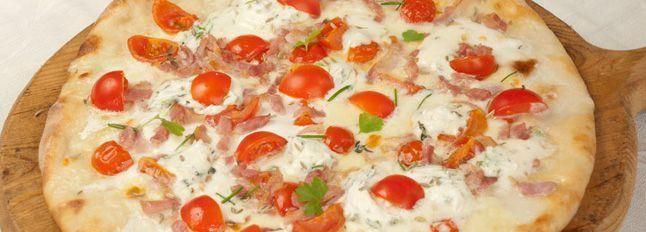 Pizza al profumo di erbe