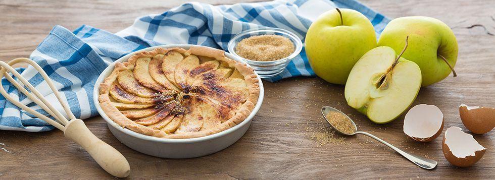 Crostata di mele all'antica
