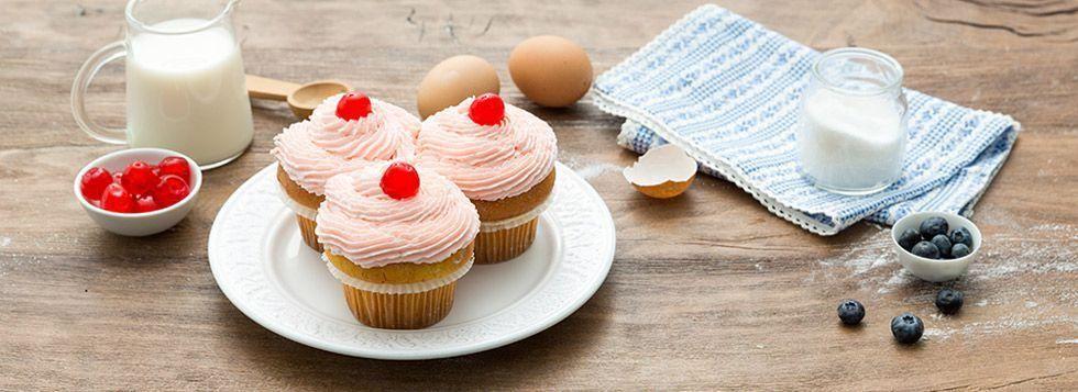 Cupcake ai mirtilli