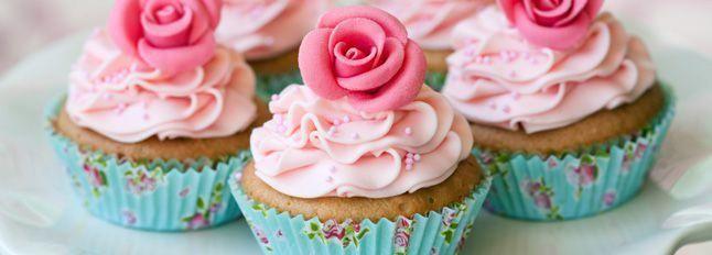 Cupcakes in rosa