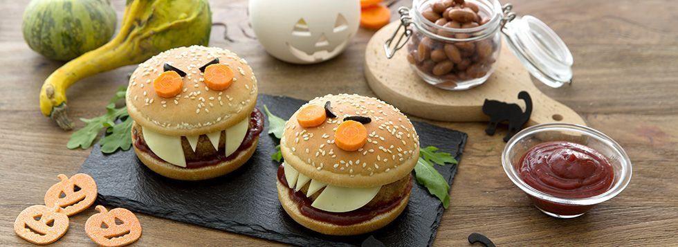 DRAGHI BURGER (vegburger di fagioli rossi e galbanino)