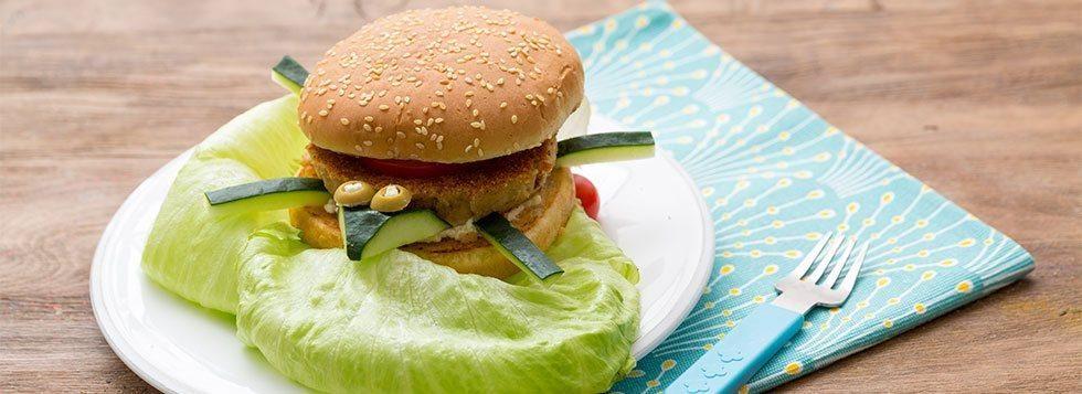 Hamburger di tonno e formaggino