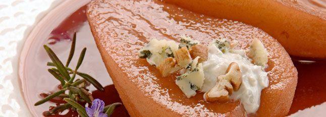 Gorgonzola e mascarpone con le pere