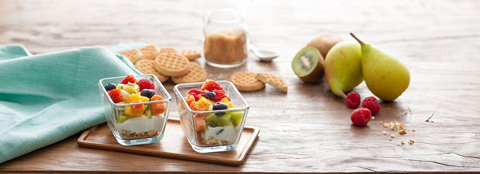 Macedonia allo yogurt