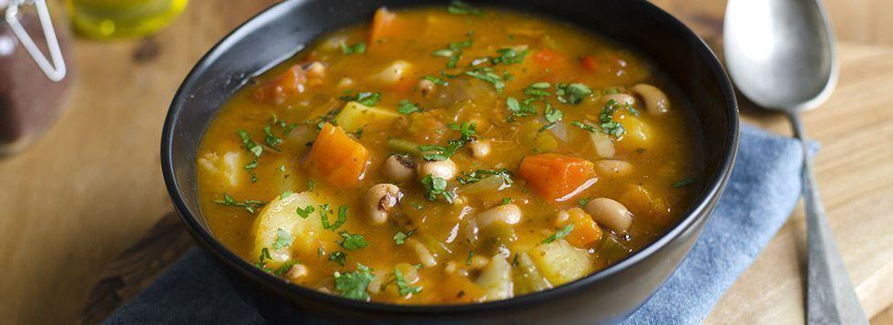 Minestra di verdure con formaggino