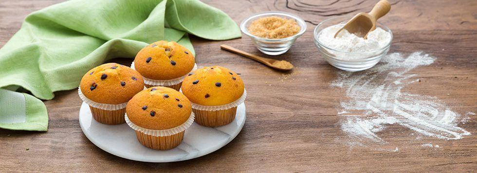 Muffin con farina di farro
