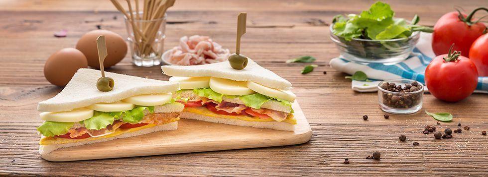 Panino (Club sandwich al Galbanino)