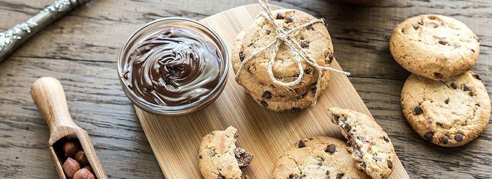 Biscottini alle gocce di cioccolato