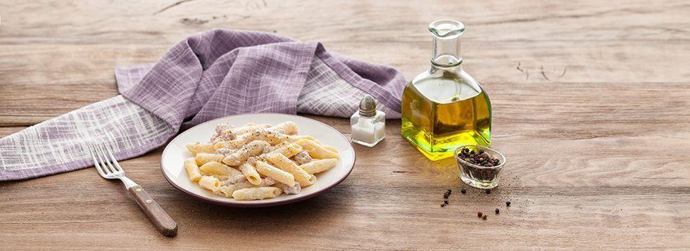 Pasta con ricotta e salsicce
