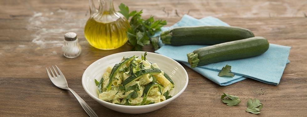 Sedanini alla crema di zucchine e Certosa la Leggera