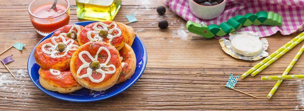Pizzette al formaggino