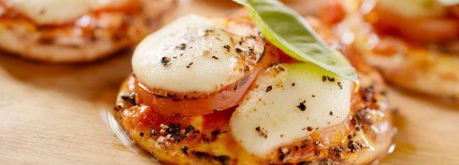 Pizzette al profumo di basilico