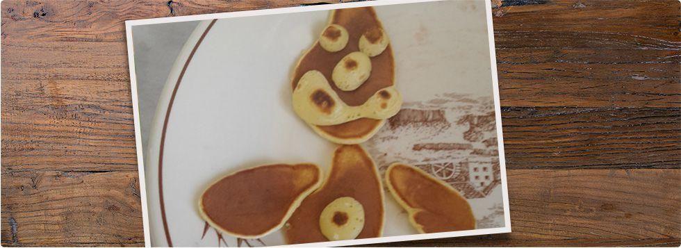 Pancakes fantasiosi