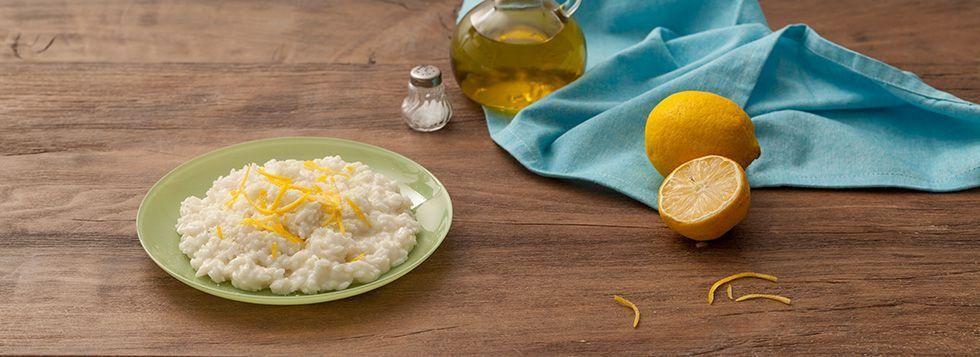 Risotto al limoncello