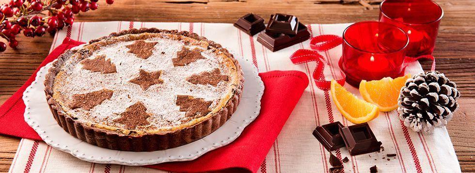 Crostata mascarpone e cioccolato