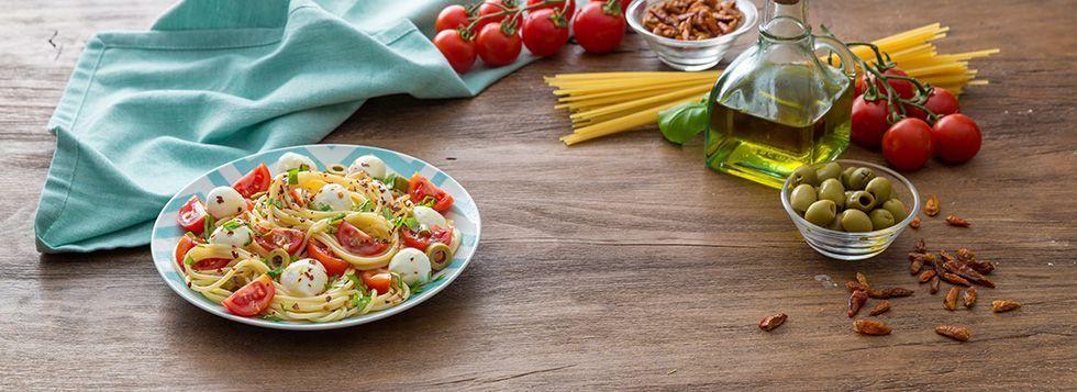 Spaghetti estivi piccanti