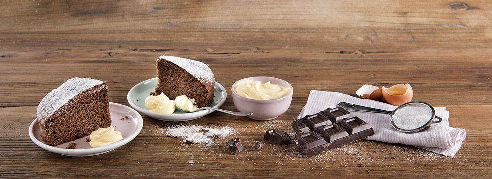 Torta al cioccolato senza lattosio